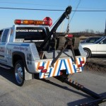 Hidden wheel lifts made for real tow trucks