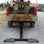 Truck has a hydrualic wheel lift installed for towing.