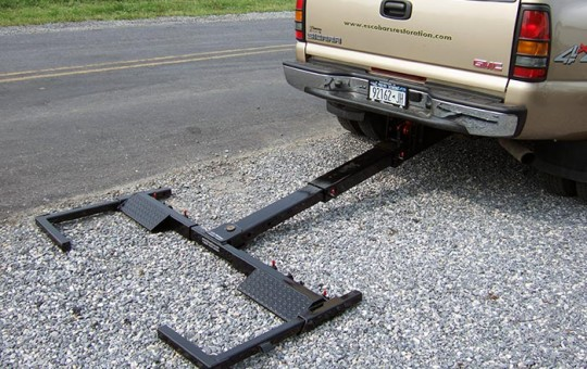 slide in wheel lift towing boom - wrecker tow boom