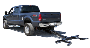 wheel lift installed on a Ford Super Duty