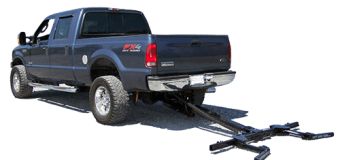 Wheel lift for tow trucks that can lift a car with an automatic control