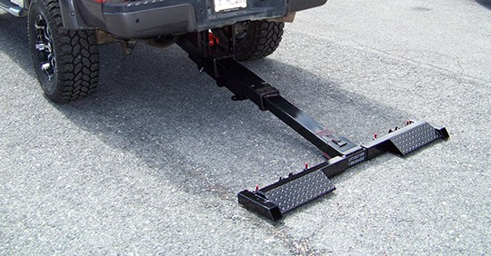 Underbody Hydraulic Wheel Lift Towing Equipment Lift And Tow