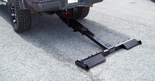 Hydraulic Towing Equipment Underbody Wheel Lift Hidden