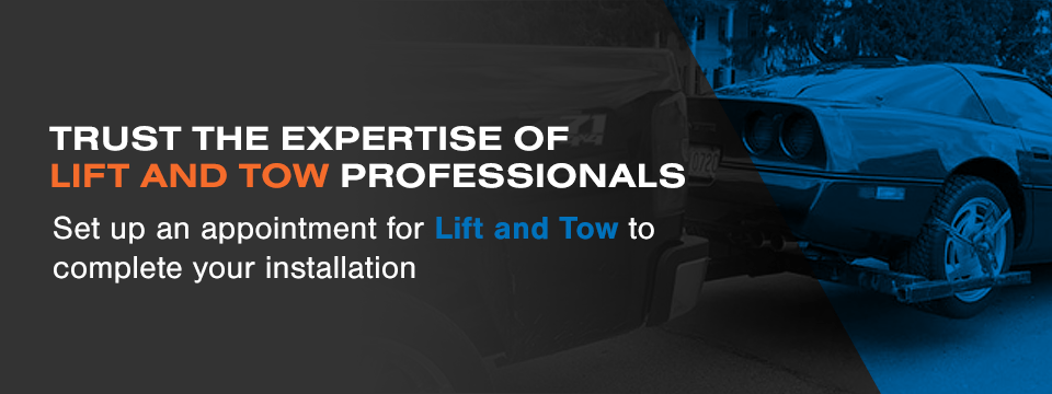Expert Wheel Lift Installation from Lift and Tow
