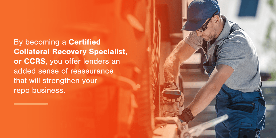 Become a Certified Recovery Agent